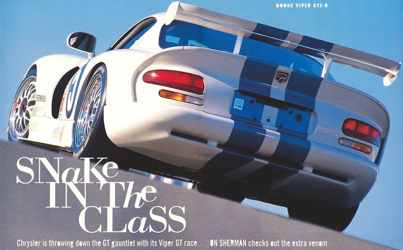 Dodge Viper GTS-R: Snake in the Class