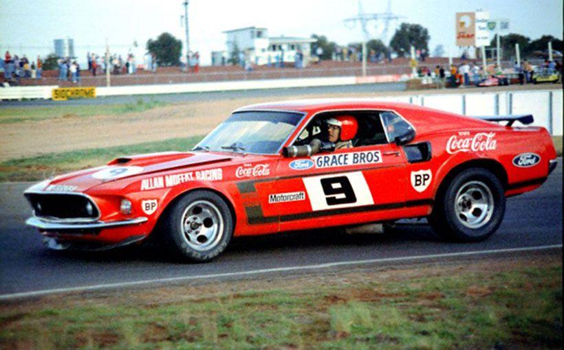 Moffat Trans-Am heads Mustang 50th Anniversary celebrations at Phillip Island Classic Festival of Motorsport