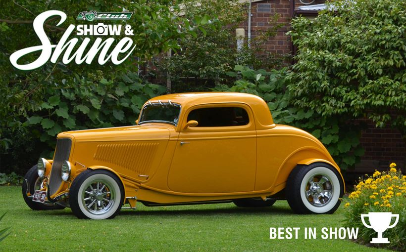 The 2018 Shannons Club Show & Shine has now been run & won