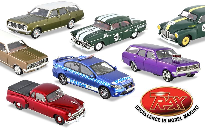 TRAX Model Car Reviews