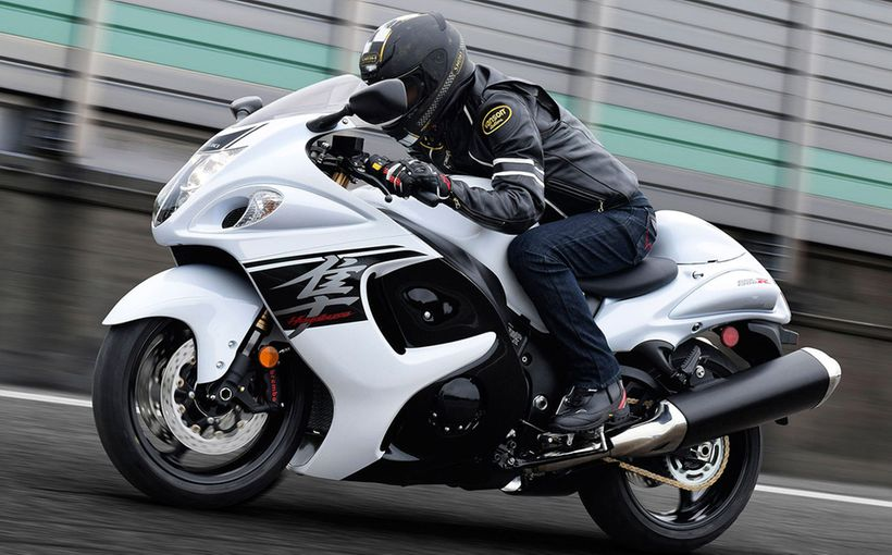 Suzuki GSX1300R Hayabusa: Fastest production motorcycle of the twentieth century