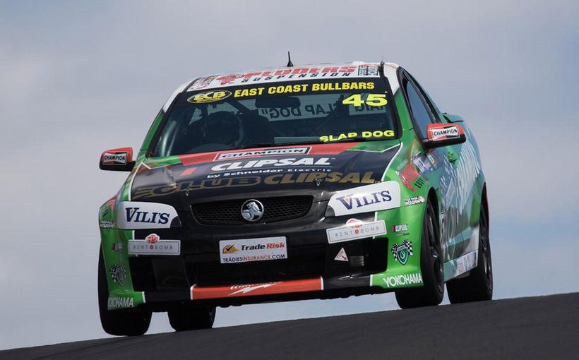 Dontas Hunting for Gold Coast V8 Utes Redemption