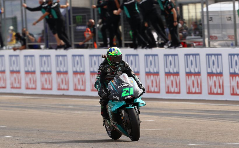 Franky Morbidelli Madness Wins at Teruel Followed by Double Suzuki Podium!