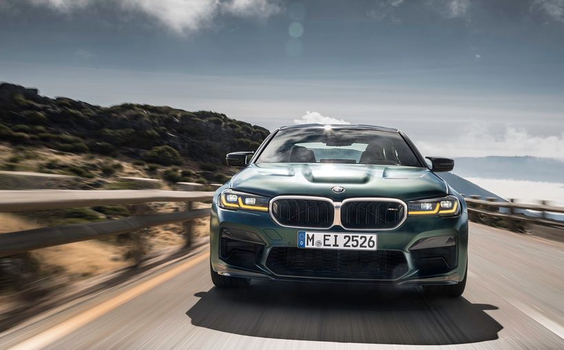 BMW has once again re-written the super-sedan book with its new M5 CS