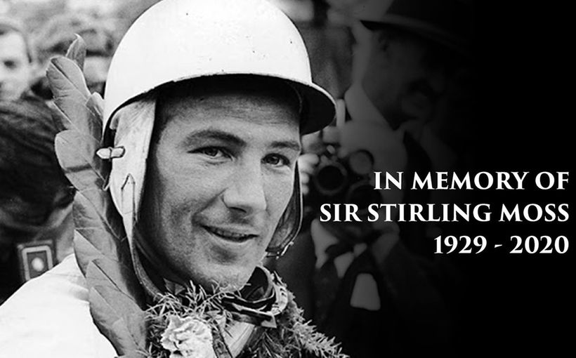 Vale: Stirling Moss OBE 1929-2020