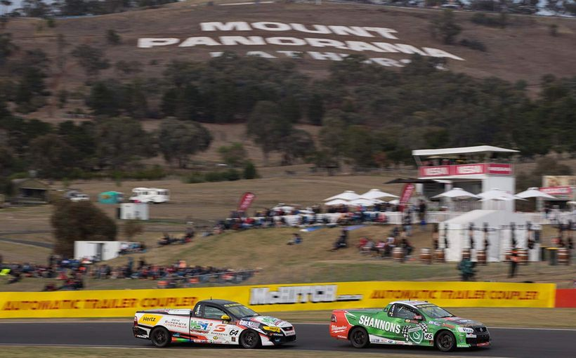 Dontas 4th at Final V8 Utes Bathurst Round