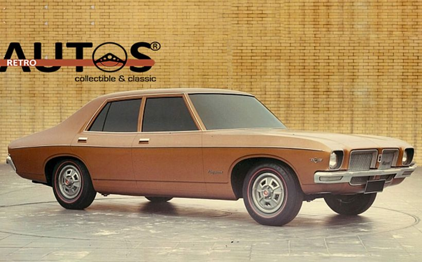 Retroautos October - Exclusive! HQ Holden design proposals and development story revealed