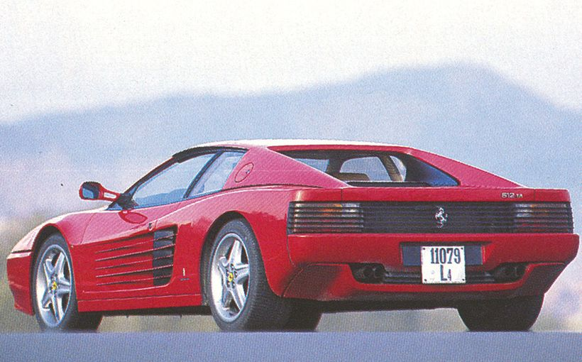 Ferrari 512 TR: The Quick and the Red