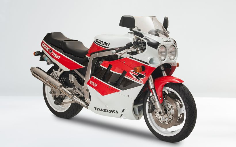 Suzuki GSX-R750: Long Stroke L