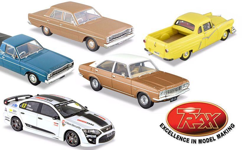TRAX Model Car Reviews