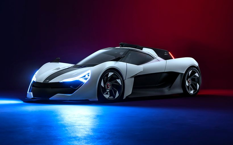 British contender Apex joins all-electric supercar race with ballistic AP-0 concept