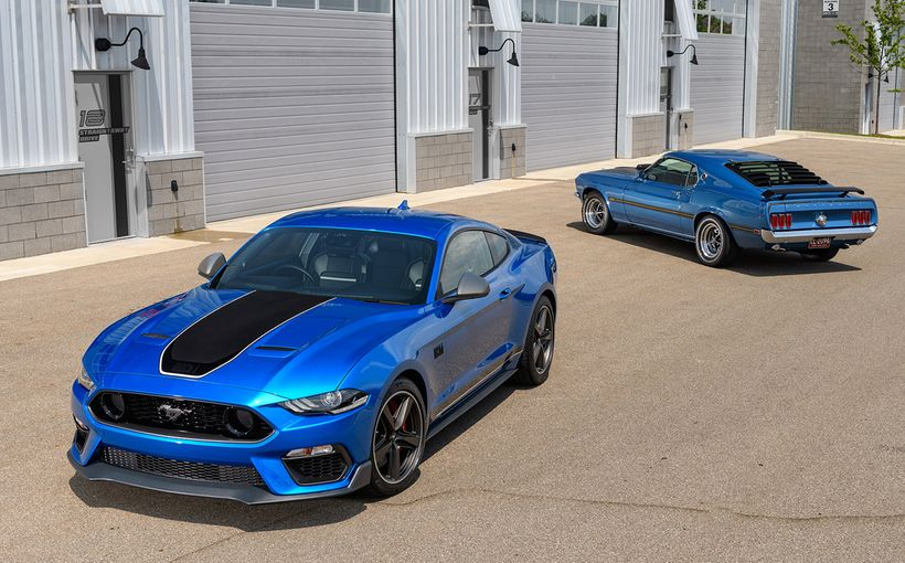 Aussie V8 fans need not fear, the Americans have our backs with new Mustang Mach 1
