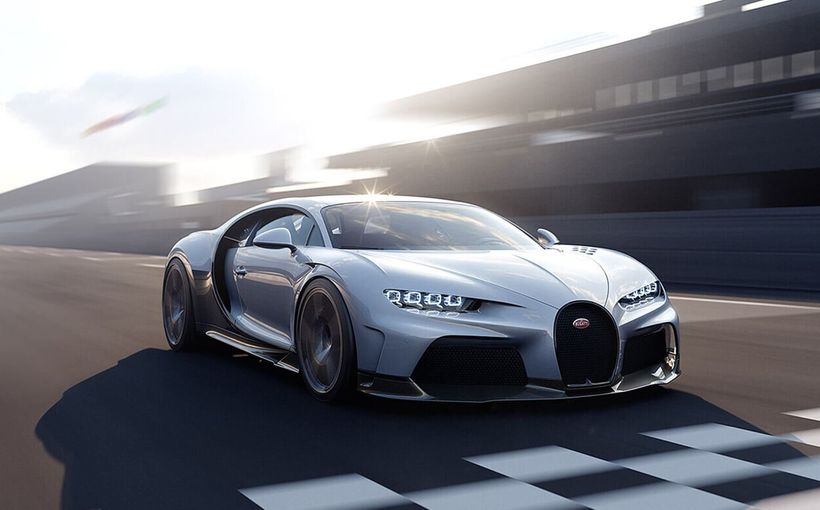 Bugatti launches an assault on production-car speed record with new Chiron Super Sport