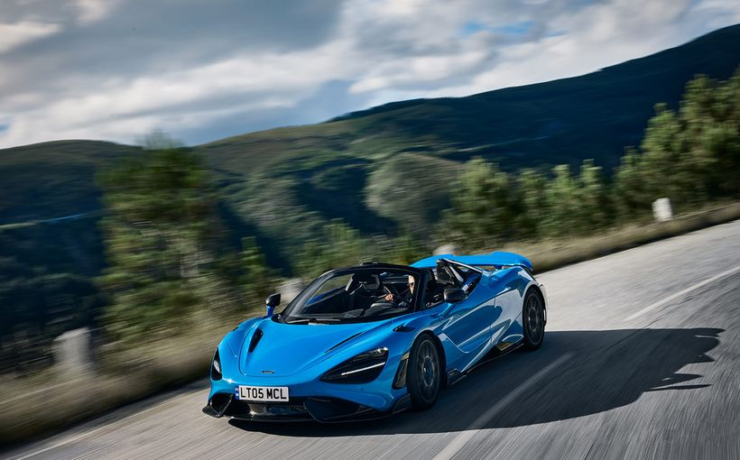 McLaren takes a tin opener to its hardcore 765LT to create new Spider version
