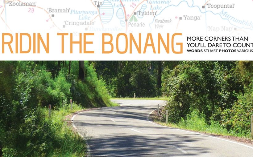 Ridin the Bonang: More Corners than you'll dare to count