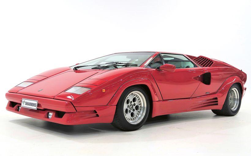 Fabulous Lamborghini Countach in Shannons Spring Online Auction