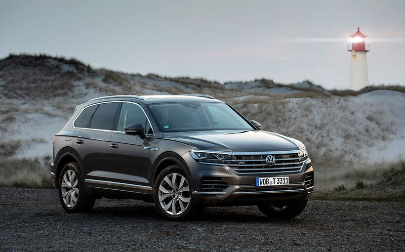 Volkswagen locks in potent turbo-diesel V8 Touareg large SUV for Australia