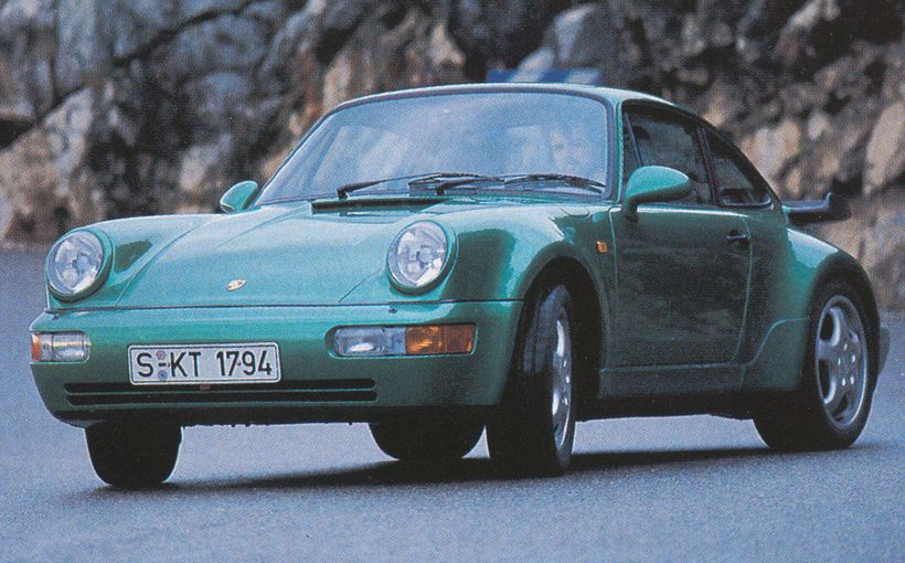 Porsche 911 Turbo: Green Grosser