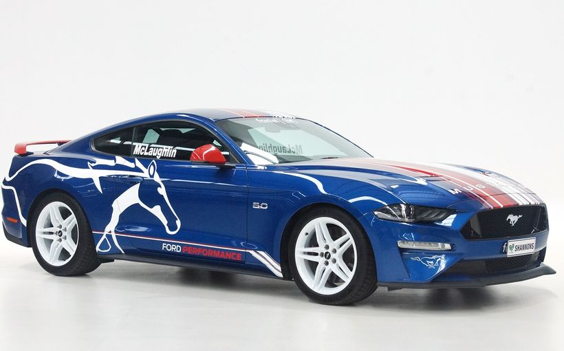 Shannons to Auction Unique 'Speed Comparison 'McLaughlin Mustang for Kids Facing Cancer