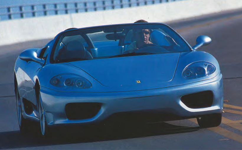 Ferrari 360 Spider: Spider bite