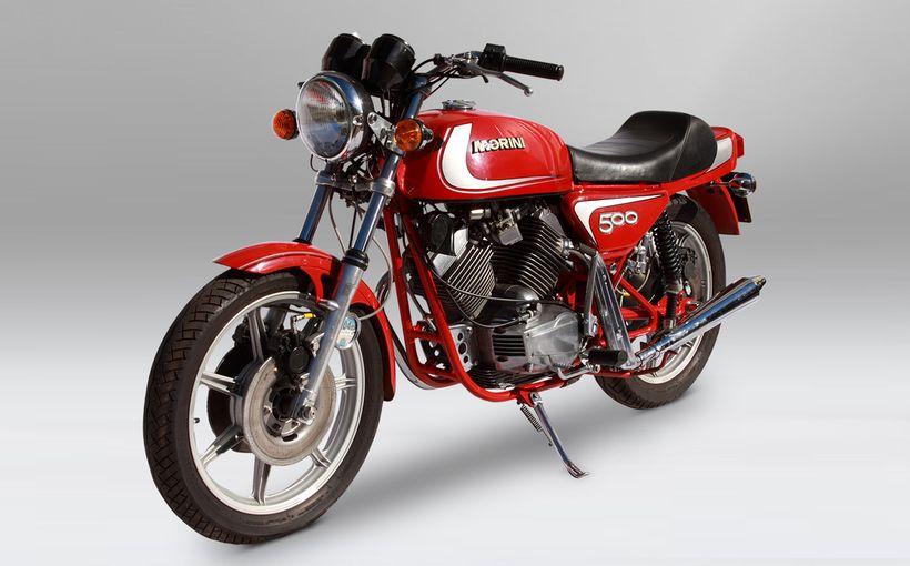 Moto Morini 500 Twin: Mid Twin
