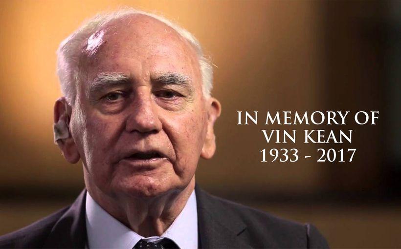 Vale Vin Kean (1933 - 2017)