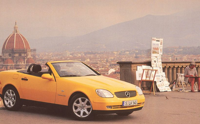 Mercedes-Benz SLK: Junior High