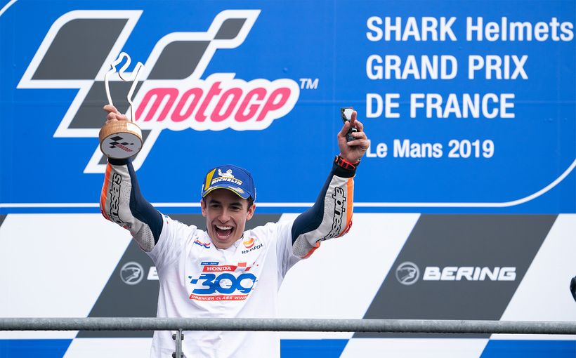 Marc Marquez Brings Home Honda's 300th Premier Class Win At Le Mans