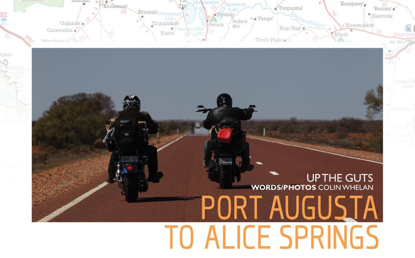 Port Augusta to Alice Springs - Up The Guts
