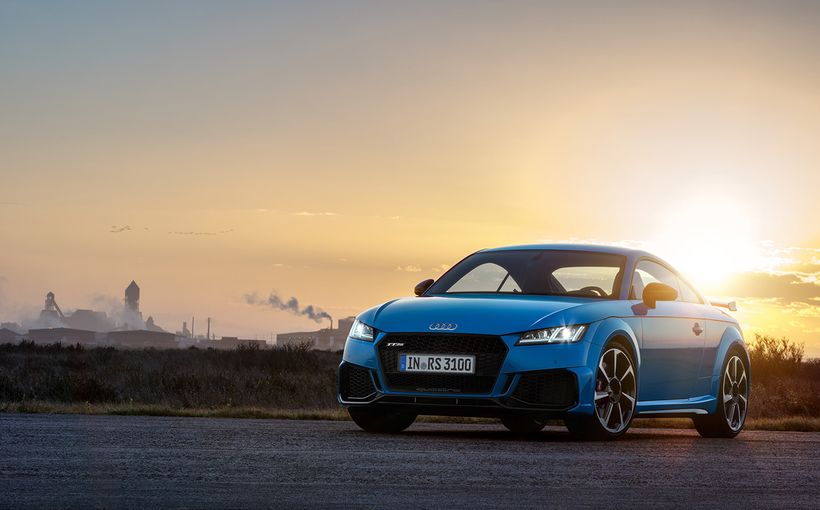 Audi's about to retire its TT, but not without a ballistic swansong, enter the TT RS