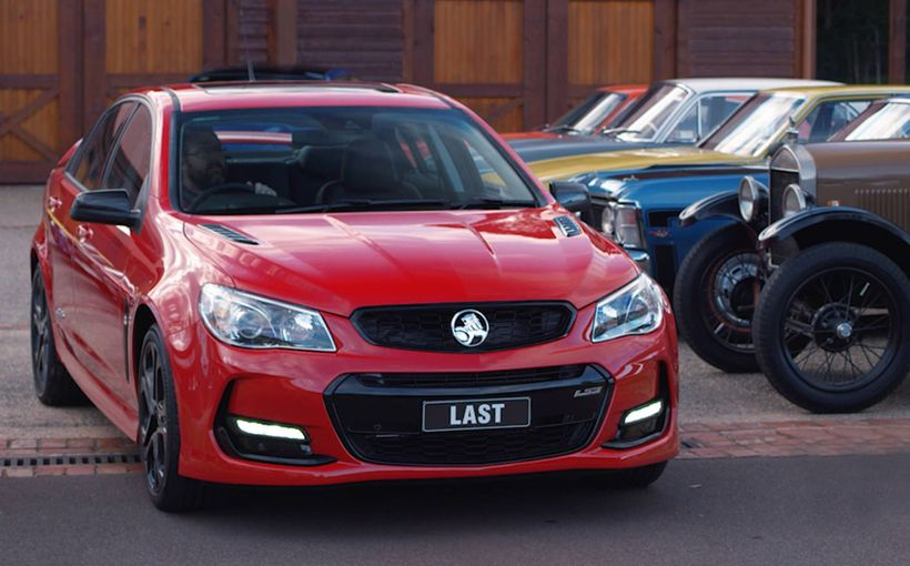 Holden Vehicle Sales, Design and Engineering to Cease in Australia
