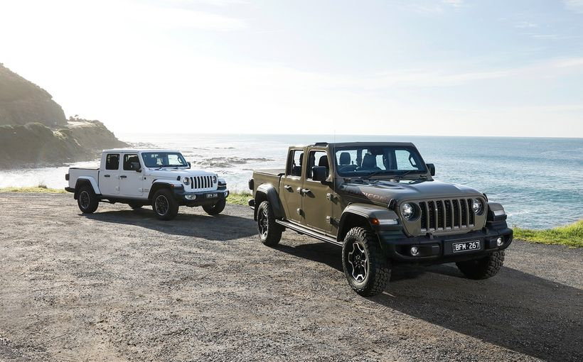 Jeep's much-anticipated Gladiator off-road pick-up finally touches down in Australia