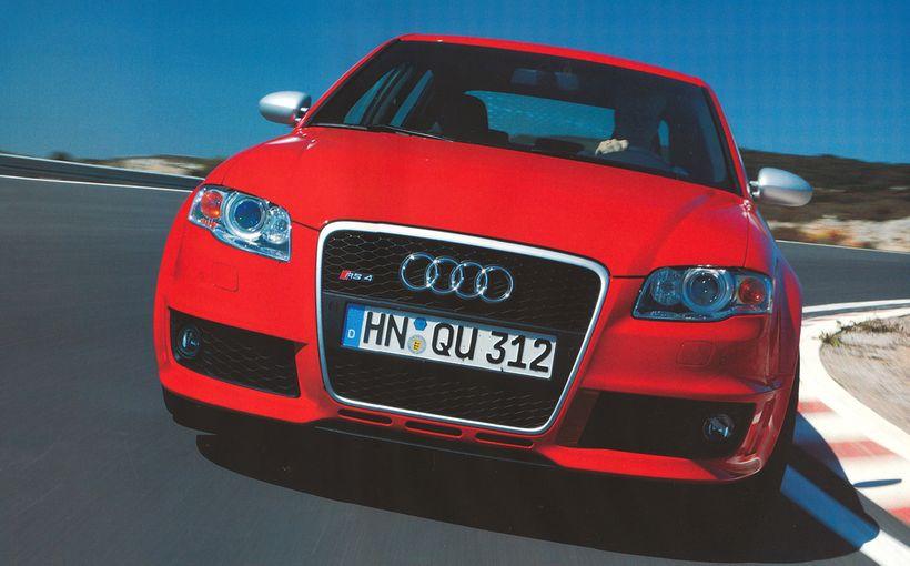 Audi RS4: Fantastic 4