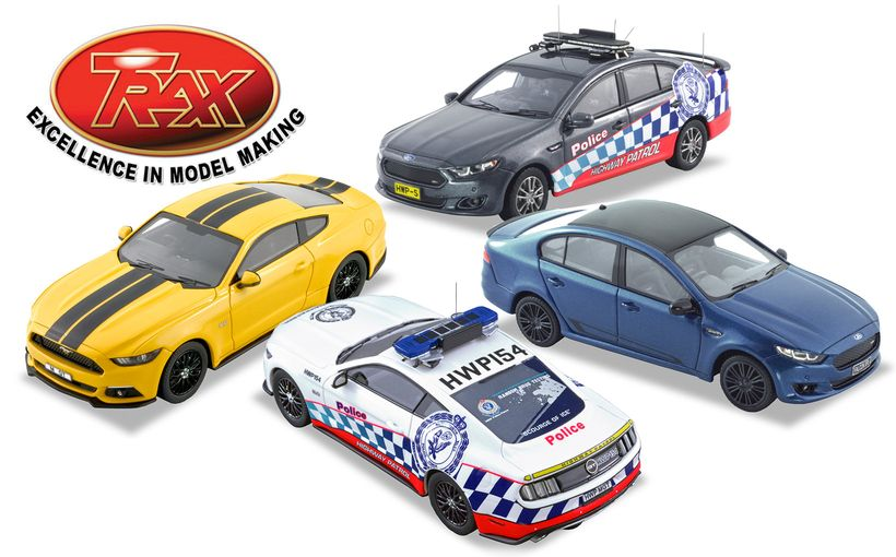 Ford FG-X Falcon and Mustang TRAX Model Car Reviews