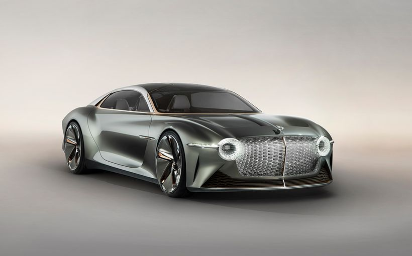 Bentley marks centenary with breathtaking EXP 100 GT