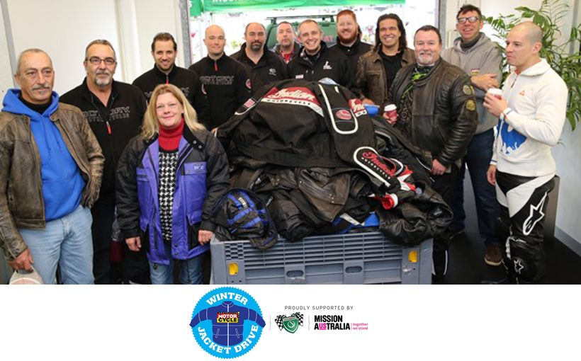 AMCN 2016 Winter Jacket Drive - Final Push for Pre-loved Motorcycle jackets