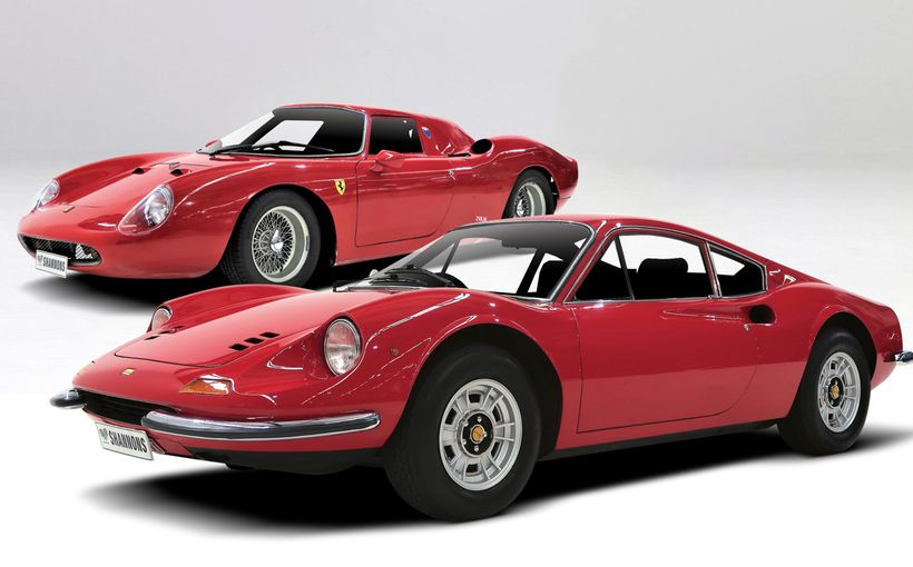 Real and Unreal Ferraris in Shannons Timed Online Winter Auction
