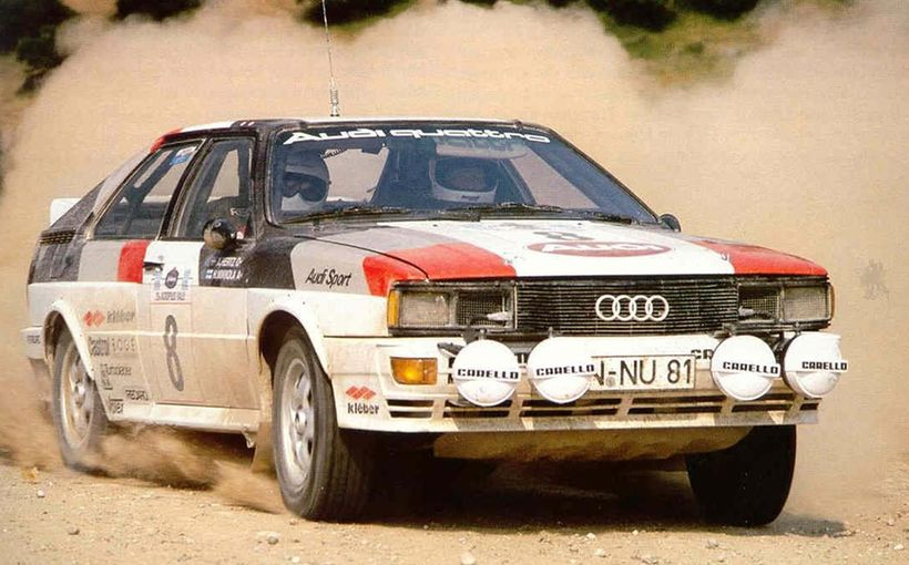 Audi Quattro: The world's most charismatic rally car