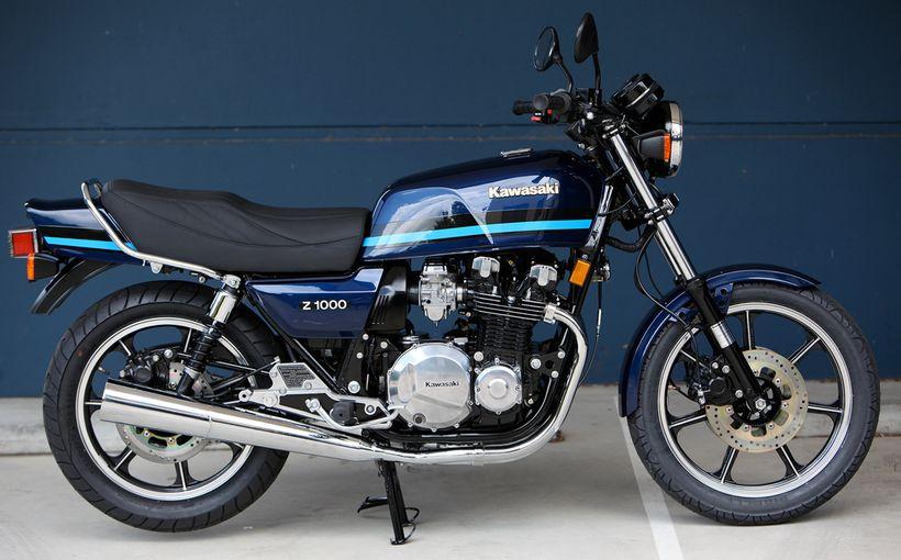 Kawasaki Z1000J: Emotional Rebuild