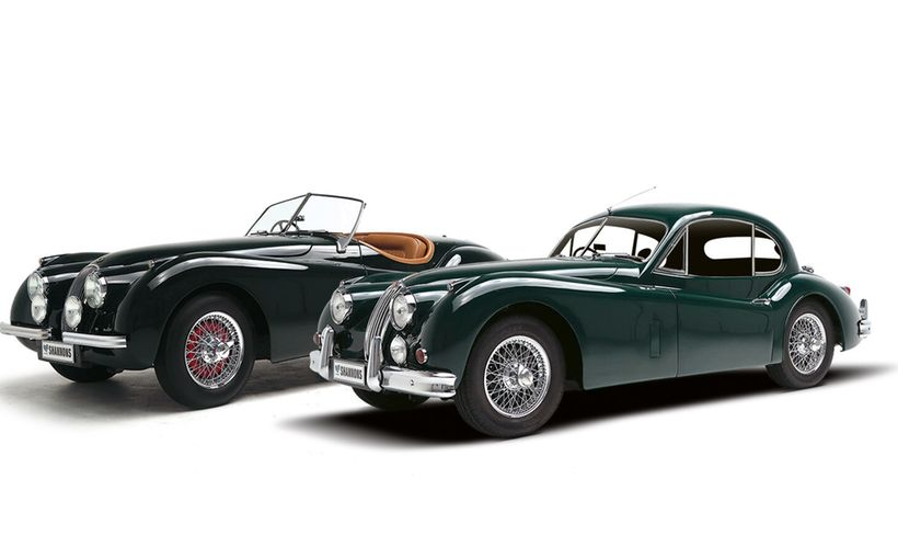 Fabulous 1950s XKs head Jaguar auction pride
