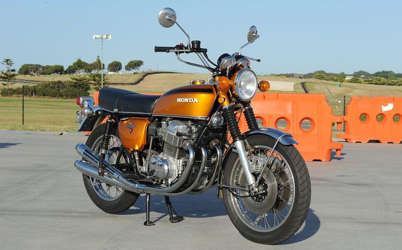 Honda CB750 Four: Big CC Bruiser