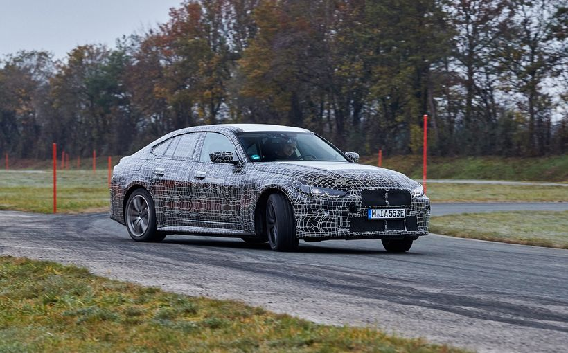 BMW is ready and raring to take the electric fight to the Audi e-Tron GT with its looming i4