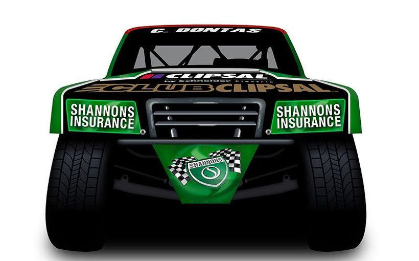 Dontas to Debut in Shannons Stadium Super Truck at Clipsal 500