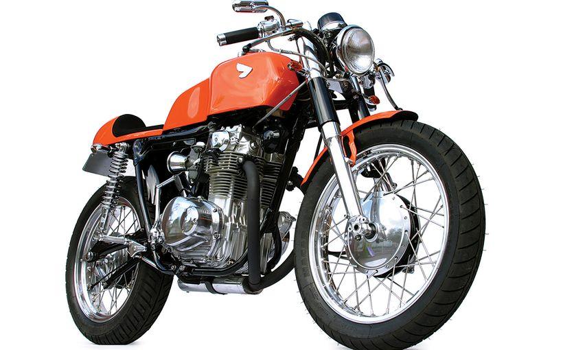 Honda 1972 CB350K Café Racer