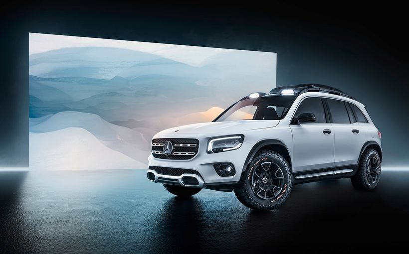 New Mercedes-Benz GLB to scratch off-road seven-seat small SUV itch