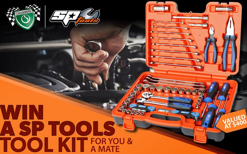 Win a SP Tools Tool Kit for you and a Mate