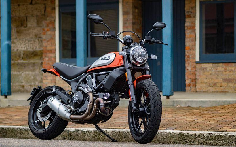 Road Rider Test: 2019 Ducati Scrambler Icon - Orange Crush