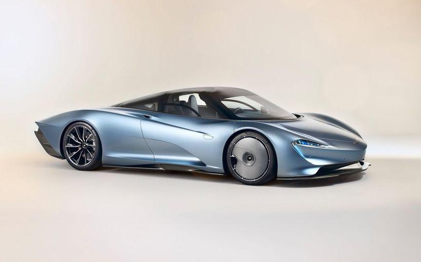McLaren unveils its F1-succeeding Speedtail three-seater