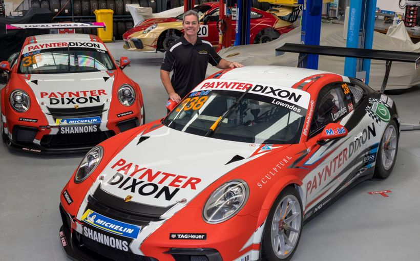 Wall Racing Partners with Craig Lowndes and Shannons