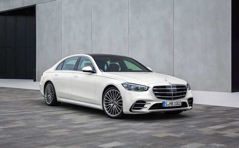Mercedes-Benz literally raises its new S-Class flagship to the top of the class